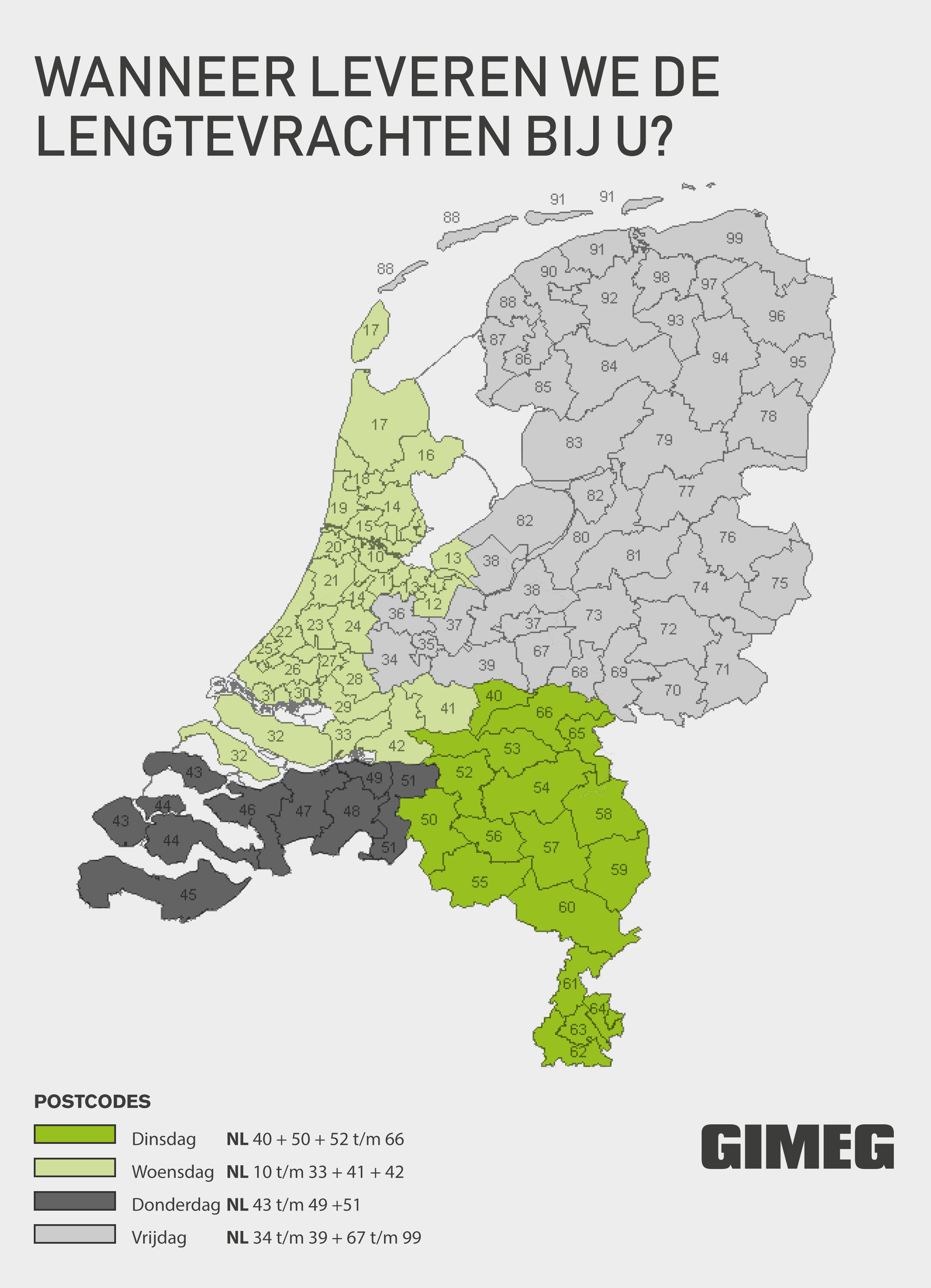 Gimeg Lengtevrachten NL